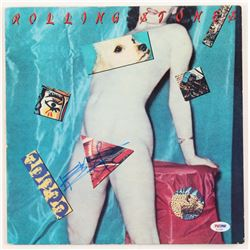 """Keith Richards Signed The Rolling Stones """"Undercover"""" Album Cover (PSA LOA)"""