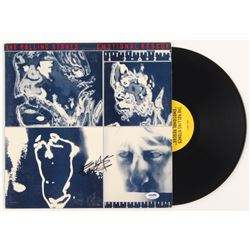 """Keith Richards Signed The Rolling Stones """"Emotional Rescue"""" Vinyl Record Album (PSA LOA)"""