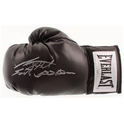 "Larry Holmes Signed Everlast Boxing Glove Inscribed ""Easton Assassin"" (Schwartz COA)"