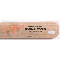 "Bobby Witt Jr. Signed Rawlings Pro Baseball Bat Inscribed ""GPOY"" (JSA COA)"