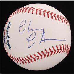Chevy Chase Signed OML Baseball (PSA COA)