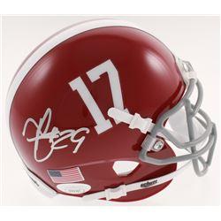 Minkah Fitzpatrick Signed Alabama Crimson Tide Mini-Helmet (JSA COA)