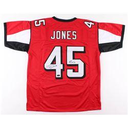 "Deion Jones Signed Jersey Inscribed ""#RiseUp"" (Radtke COA)"