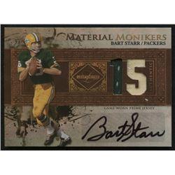 2007 Leaf Limited Material Monikers Jersey Number Prime #44 Bart Starr #4/25
