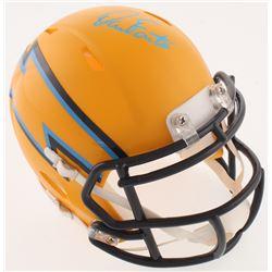 Dan Fouts Signed San Diego Chargers AMP Alternate Mini Helmet (JSA COA)