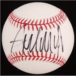 Donald Trump Signed OML Baseball (PSA LOA)