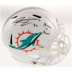 "Kenyan Drake Signed Miami Dolphins Full-Size Speed Helmet Inscribed ""Miracle in Miami"" (Radtke COA)"
