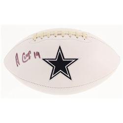 Amari Cooper Signed Dallas Cowboys Logo Football (Radtke COA)