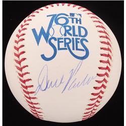 Dave Parker Signed 1979 World Series Baseball (Schwartz COA)