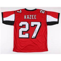 Damontae Kazee Signed Jersey (Radtke COA)