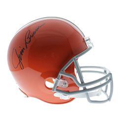 Jim Brown Signed Cleveland Browns Full-Size Helmet (JSA COA)