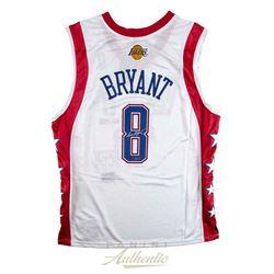 Kobe Bryant Signed Los Angeles Lakers 2004 All-Star Jersey (Panini COA)
