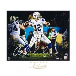 Andrew Luck Signed Indianapolis Colts 16x20 LE Photo (Panini COA)