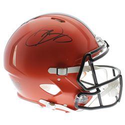 Odell Beckham Jr. Signed Cleveland Browns Authentic On-Field Speed Helmet (JSA COA)
