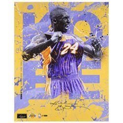 Kobe Bryant Signed Los Angeles Lakers 20x24 LE Photo (Panini COA)