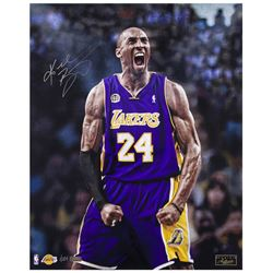 Kobe Bryant Signed Los Angeles Lakers 16x20 LE Photo (Panini COA)