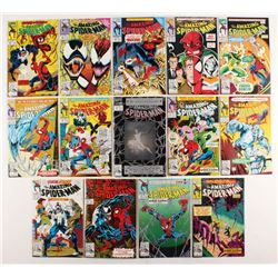 """Consecutive Lot of (14) 1992-93 """"The Amazing Spider-Man"""" Marvel Comic Books with #362-#375"""