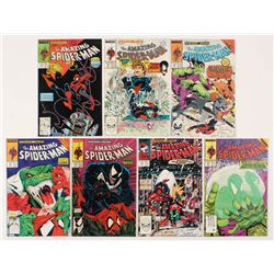 """Consecutive Lot of (7) 1988-89 """"The Amazing Spider-Man"""" Marvel Comic Books with #310-#316"""