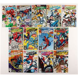 "Consecutive Lot of (13) 1991-92 ""The Amazing Spider-Man"" Marvel Comic Books with #348-#360"