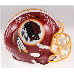 Mark Moseley, Joe Theismann  Larry Brown Signed Washington Redskins Full-Size Authentic On-Field Spe