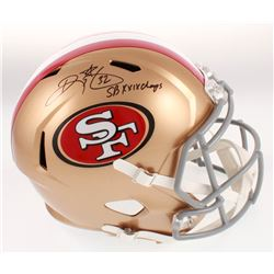 """Ricky Watters Signed San Francisco 49ers Full-Size Speed Helmet Inscribed """"SB XXIX Champs"""" (Beckett"""