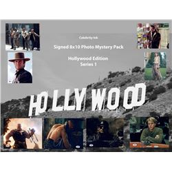 Entertainment Autographs Presents Celebrity Ink Signed 8x10 Photo Mystery Box - Hollywood Edition Fe