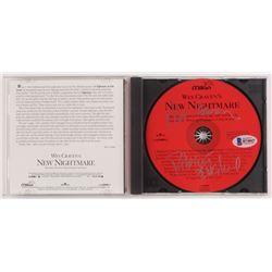 """Wes Craven  Robert Englund Signed """"Wes Craven's New Nightmare"""" Soundtrack CD Album (Beckett COA)"""