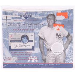 2003 Upper Deck New York Yankees Pride of New York Signature Series Baseball Hobby Box with (10) Pac