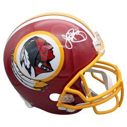 John Riggins Signed Washington Redskins Full-Size Helmet (Beckett COA)