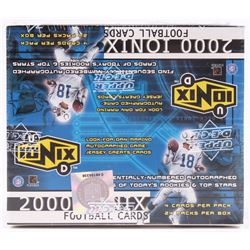 2000 Upper Deck Ionix Football Unopened Hobby Box with (24) Packs