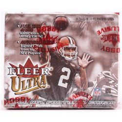 2000 Fleer Ultra Football Unopened Hobby Box with (24) Packs