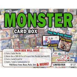 """""""MONSTER BOX"""" Mystery Sealed Product Box! 5 to 10 Products Per Box!"""