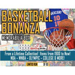 """BASKETBALL BONANZA"" AUTOGRAPHS/VINTAGE/MEMORABILIA MYSTERY BOX!"