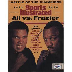 Muhammad Ali Signed Sports Illustrated Magazine (PSA COA)