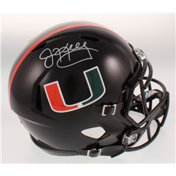 Jim Kelly Signed Miami Hurricanes Full-Size Speed Helmet (JSA COA)