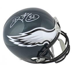 Ricky Watters Signed Philadelphia Eagles Full-Size Helmet (Beckett COA)