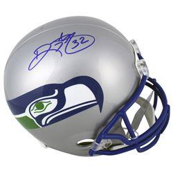 Ricky Watters Signed Seattle Seahawks Throwback Full-Size Helmet (Beckett COA)