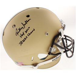 "Rickey Jackson Signed New Orleans Saints Full-Size Helmet Inscribed ""HOF 2010""  ""SBXXIX Champs"" (JSA"