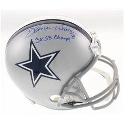 """Darren Woodson Signed Dallas Cowboys Full-Size Helmet Inscribed """"3x SB Champs!"""" (Beckett COA)"""