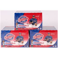 Lot of (3) 2001 Donruss Class Of 2001 Baseball Cards Box