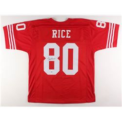 Jerry Rice Signed Jersey (Beckett COA)