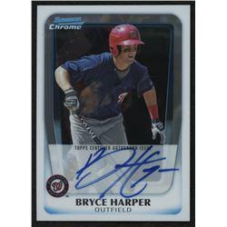 2011 Bowman Chrome Prospect Autographs RC #BCP111B Bryce Harper