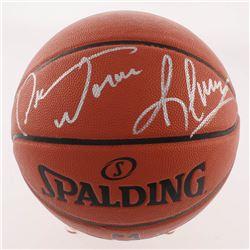 """Dennis Rodman Signed Official NBA Game Ball Series Basketball Inscribed """"Worm"""" (Beckett COA)"""