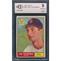 1961 Topps #287 Carl Yastrzemski (BCCG 9)