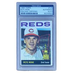 Pete Rose Signed 1964 Topps #125 (PSA Encapsulated)