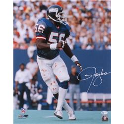 Lawrence Taylor Signed New York Giants 16x20 Photo (Beckett COA)