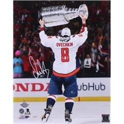 Alexander Ovechkin Signed Washington Capitals 16x20 Photo (Fanatics Hologram)