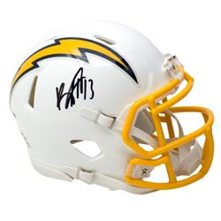 Keenan Allen Signed Chargers Speed Mini Helmet (Beckett COA)