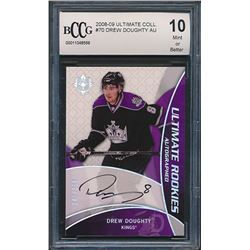 2008-09 Ultimate Collection #70 Drew Doughty Autographed RC (BCCG 10)