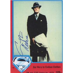 "Christopher Reeve Signed ""Superman"" 7x10 Print (Beckett LOA)"